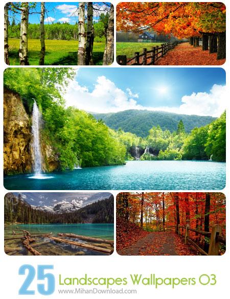 دانلود Landscapes Wallpapers Set 03 مجموعه سوم از تصاویر زیبا از مناظر