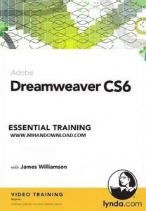 دانلود فیلم آموزش طراحی وب با Dreamweaver CS6