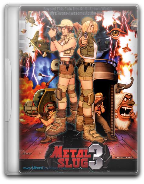 دانلود بازی قدیمی Metal Slug 3