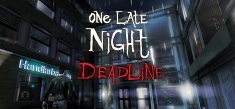 One Late Night Deadline (1)