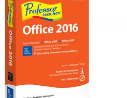 Professor Teaches Office 2016