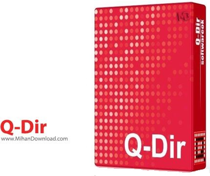 Q Dir 1 نرم افزار مدیریت فایل ها Q Dir v5 96 7 Final