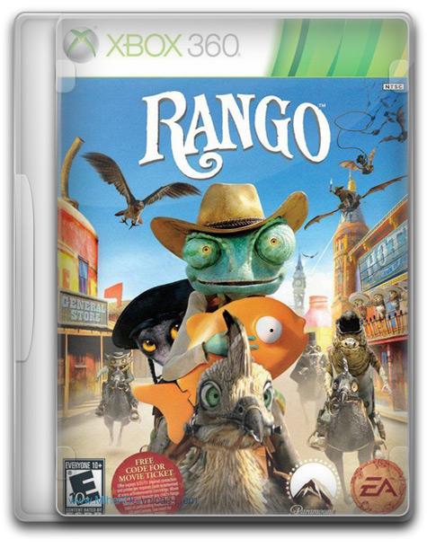 Rango The Videogame XBOX360 (1)