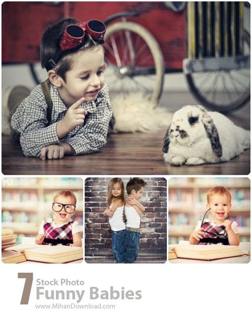 دانلود عکس با کیفیت بچه های بامزه Stock Photos Funny Babies