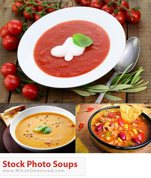 دانلود عکس با کیفیت سوپ Stock Photo Soups