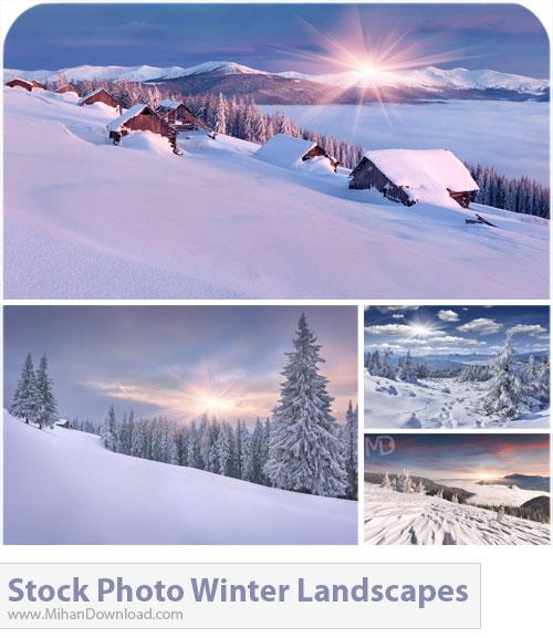 دانلود عکس با کیفیت مناظر زمستانی Stock Photos Winter Landscapes