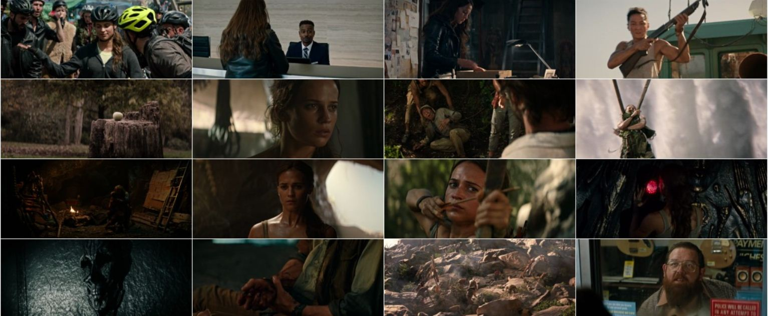 Tomb Raider 2018 2 دانلود فیلم دیدنی و جذاب Tomb Raider 2018