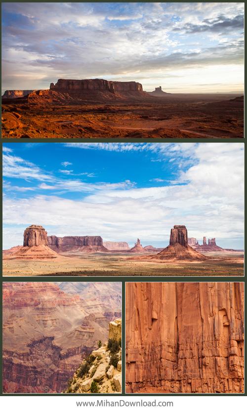 دانلود مجموعه والپیپر فول اچ دی دره های زیبا برای بک گراند monument valley 