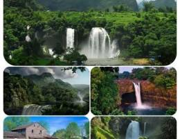 دانلود مجموعه والپیپرهای زیبا از آبشارها و طبیعت