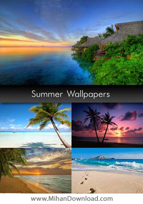 دانلود مجموعه والپیپرهای تابستانی Summer Wallpapers