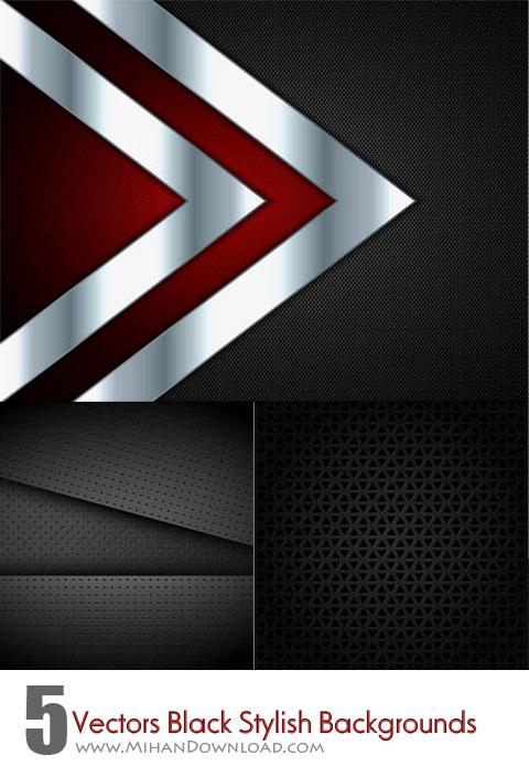 Vectors-Black-Stylish-Backgrounds
