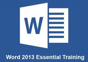دانلود فیلم آموزش Word 2013