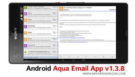 دانلود نرم افزار Email App برای آندروید