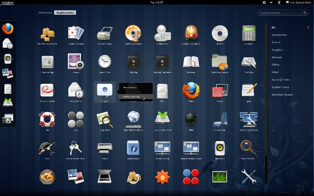 fedora15_gnome3-activities-applications