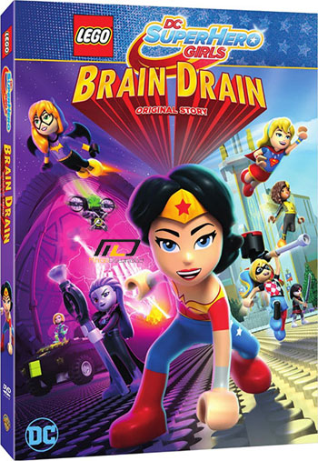 دانلود انیمیشن Lego DC Super Hero Girls: Brain Drain 2017
