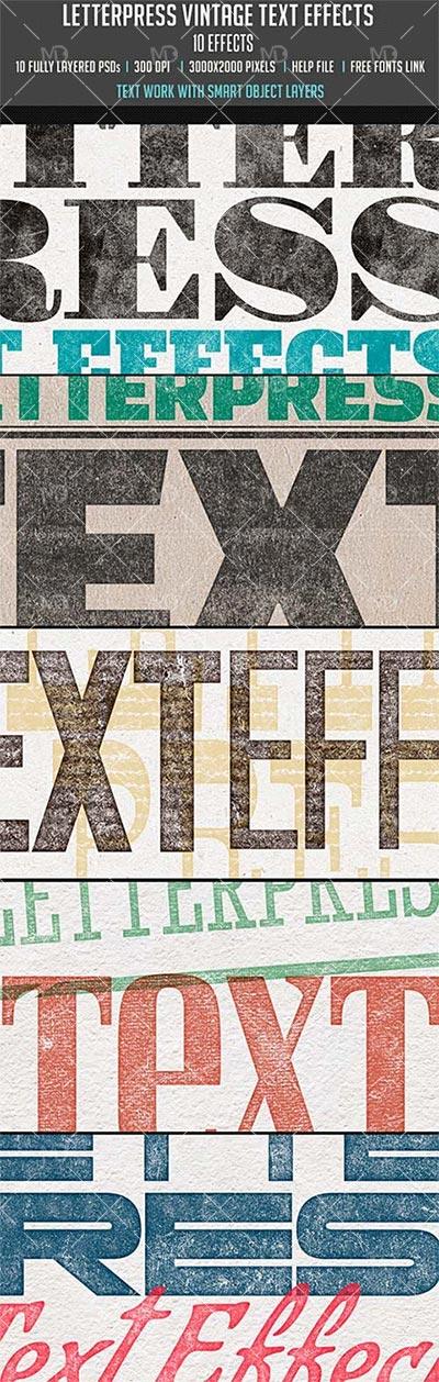letterpress-Vintage-Text-Effects