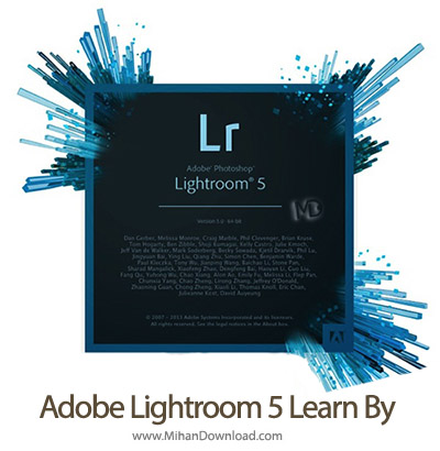 lr5splash-Adobe Lightroom 5 Learn By Video
