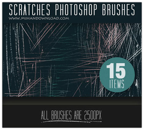scratches-brushes