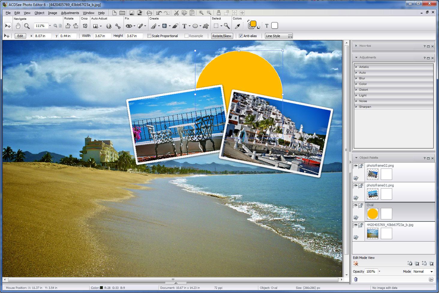 screenshot.ACDSee.Photo .Editor نرم افزار ویرایش تصاویر ACDSee Photo Editor 6 0 Build 359