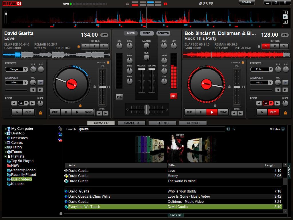 screenshot.Atomix.Virtual.DJ 4 نرم افزار میکس و دی جی مجازی Atomix Virtual DJ Pro 7 4 1 Build 482