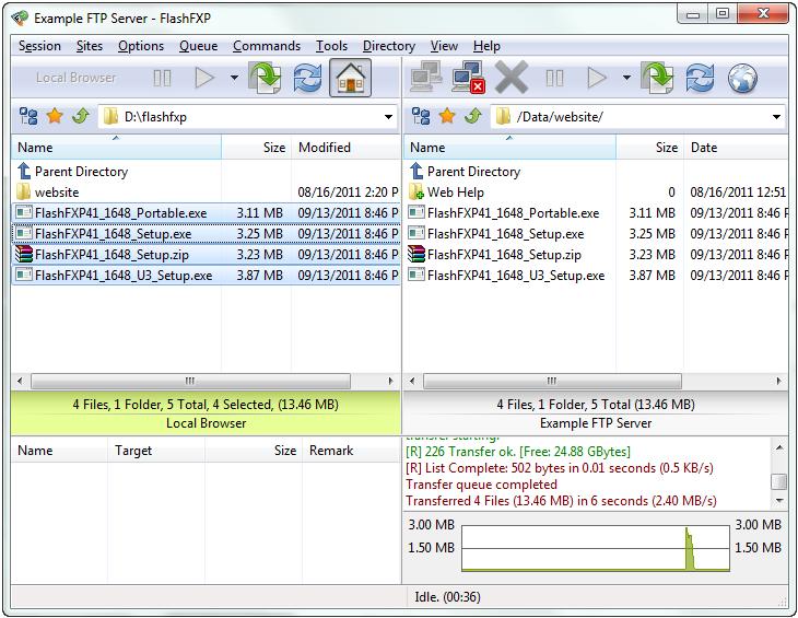 screenshot.FlashFXP-2