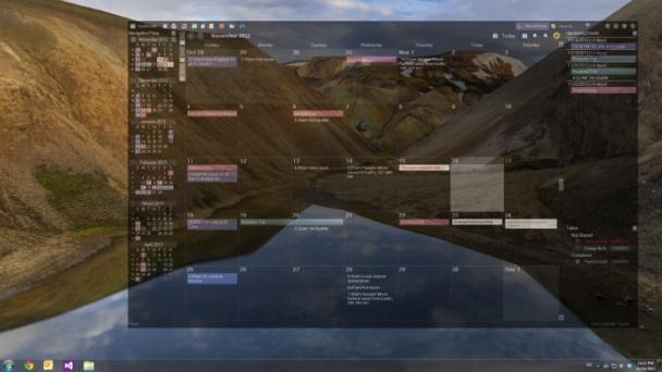 screenshot.VueMinder 2 نرم افزار تقویم برای ویندوز VueMinder Ultimate 11 1 0