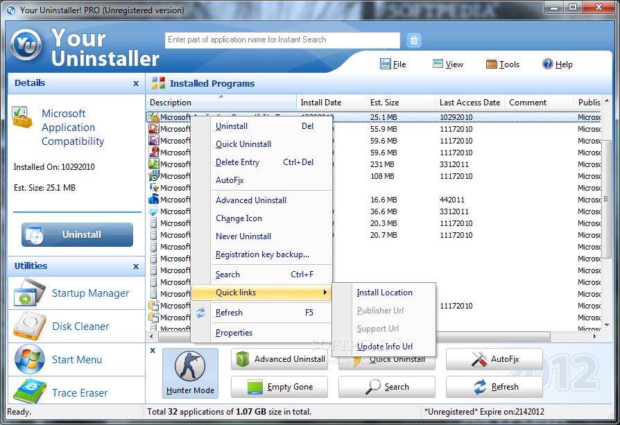 screenshot.Your.Uninstaller.PRO-2