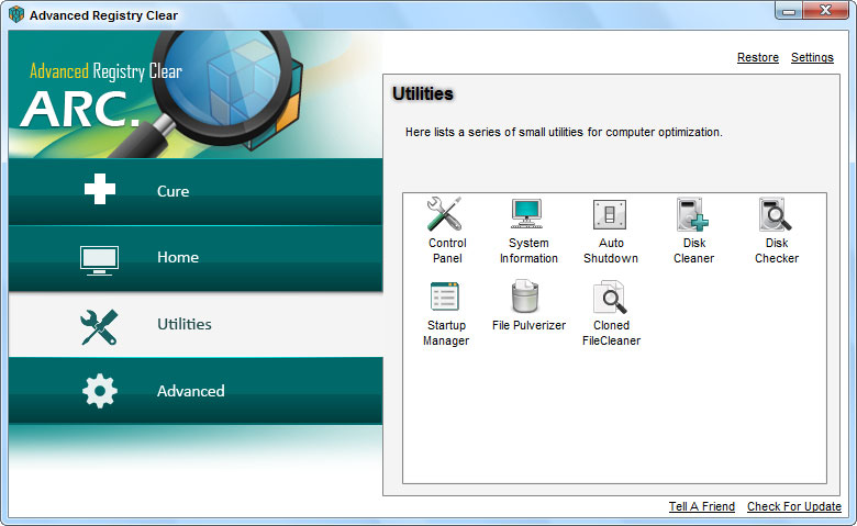 screenshots.Advanced.Registry.Clear1  دانلود Advanced Registry Clear 2 3 8 6 نرم افزار بهینه سازی ریجستری