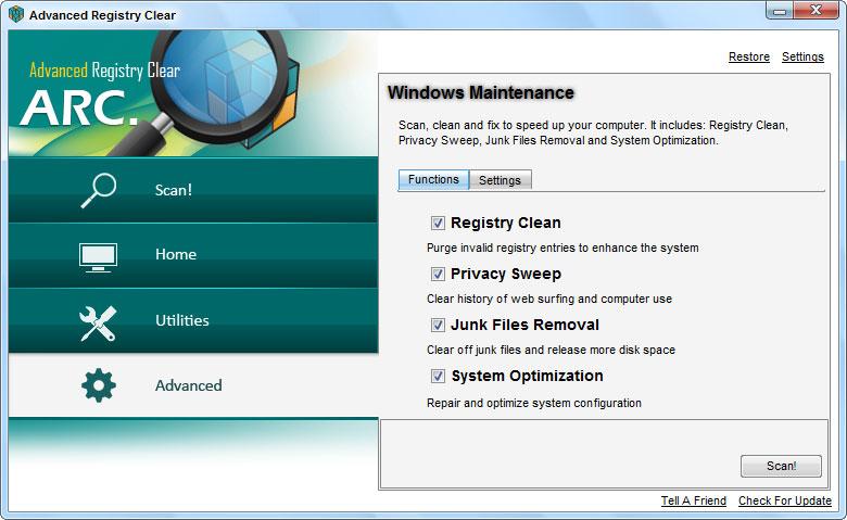 screenshots.Advanced.Registry.Clear4  دانلود Advanced Registry Clear 2 3 8 6 نرم افزار بهینه سازی ریجستری