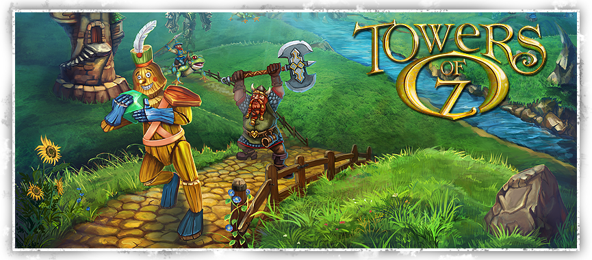 دانلود بازی دفاع از قلعه Towers of Oz برای کامپیوتر